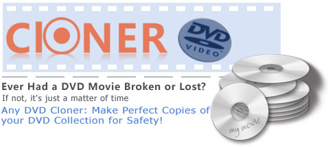 any dvd cloner software, make copys of encrypted dvd movies